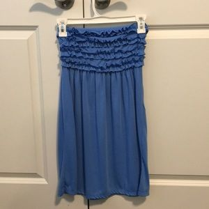 ☀️OP blue dress/ swim cover up size small